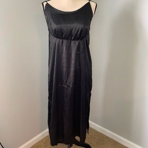 JAPNA Black Backless Dress